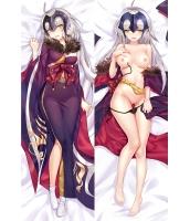 Fate/Grand Order ジャンヌ・オルタ 二次創作 同人 18禁 抱き枕カバー FGO FateGO フェイト/グランドオーダー 邪ンヌ 振袖邪ンヌ 着物ジャンヌオルタ 尚萌=狸追 cz001029