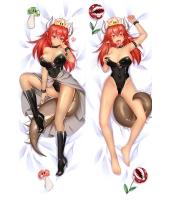 マリオシリーズ クッパ姫 二次創作 同人 抱き枕カバー スーパーマリオ 赤毛ver 尚萌=玉々 cz00986