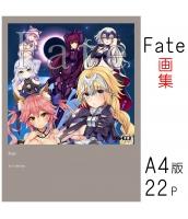 【在庫SALE】 Fate 画集 二次創作 同人 オールカラー画集  18禁 R-18 R18 tk-dab1005
