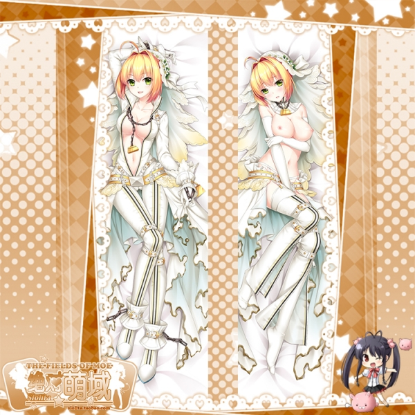 Fate/Grand Order ネロ・クラウディウス 二次創作 同人 18禁 抱き枕カバー FGO Fatego フェイト/グランドオーダー 絶対萌域=Summer ez00356-2