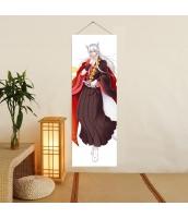 神様はじめました 巴衛/野狐 掛け軸/タペストリー 二次元 萌え 同人 アニメ抱き枕周辺グッズ 女性・女子向け 神はじ 御景巴衛 麦芽堂  gbz11299-1