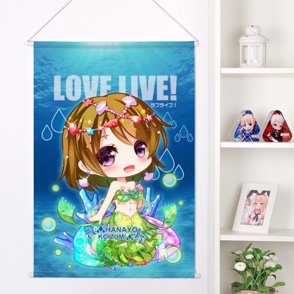 ラブライブ! 小泉花陽 二次創作 同人 タペストリー ラ! LOVE LIVE! 小泉花陽 尚萌 gcz10025