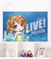 ラブライブ! 小泉花陽 二次創作 同人 タペストリー ラ! LOVE LIVE! 小泉花陽 尚萌 gcz10037