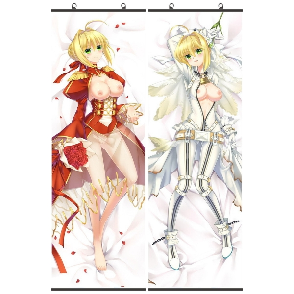 Fate/Grand Order ネロ・クラウディウス 二次創作 同人 18禁 タペストリー お得2枚セットあり! FGO Fatego フェイト/グランドオーダー 萌工房 gmz09938-34