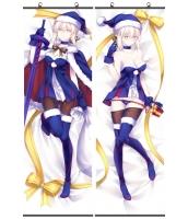 Fate アルトリア・ペンドラゴン 二次創作 同人 タペストリー お得2枚セットあり! フェイト セイバーオルタ サンタオルタ 萌工房 gmz09946-12