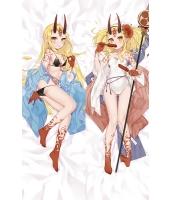 Fate/Grand Order 茨木童子 二次創作 同人 抱き枕カバー FGO FateGO フェイト/グランドオーダー ばらきー 水着茨木童子 サーヴァント・サマー・フェスティバル! エンコミウム・モリエ 雨の日アリス jz00072-1