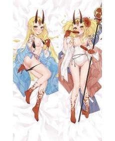 Fate/Grand Order 茨木童子 二次創作 同人 18禁 抱き枕カバー FGO FateGO フェイト/グランドオーダー ばらきー 水着茨木童子 サーヴァント・サマー・フェスティバル! エンコミウム・モリエ 雨の日アリス jz00072-2