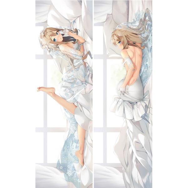 少女前線 ドールズフロントライン KP31 スオミ 二次創作 同人 抱き枕カバー ドルフロ 花嫁スオミ スオミウェディング 雨の日アリス=音無空太 jz00081-1