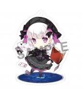 【在庫SALE】Fate/Grand Order ナーサリー・ライム スタンドキーホルダー(アクリル/両面) 二次創作グッズ 同人グッズ FGO Fatego フェイト/グランドオーダー 箱庭しんふぉにー=saru  tk-khz11010