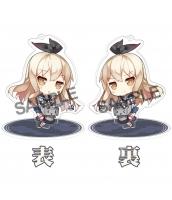 【在庫SALE】艦隊これくしょん 島風 スタンドキーホルダー(アクリル/両面) 二次創作グッズ 同人グッズ ぜかまし 艦これ 艦娘 駆逐艦これ 艦娘 島風型1番艦 駆逐艦 箱庭しんふぉにー=saru  tk-khz11015