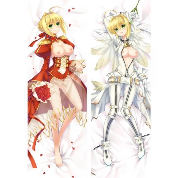 Fate/Grand Order ネロ・クラウディウス 二次創作 同人 18禁 抱き枕カバー FGO Fatego フェイト/グランドオーダー 萌工房 mz09938-2