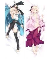 Fate/Grand Order 桜セイバー(沖田総司) 二次創作 同人 抱き枕カバー FGO Fatego フェイト/グランドオーダー 沖田総司 萌工房 mz09948-1
