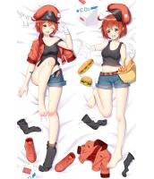 はたらく細胞 赤血球AE3803 二次創作 同人 抱き枕カバー はたらくさいぼう 萌工房 mz10142-1