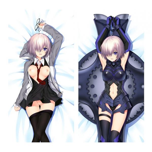 Fate/Grand Order マシュ・キリエライト 1/2サイズ 二次創作 同人 18禁 抱き枕カバー FGO Fatego フェイト/グランドオーダー 萌工房 smz09937-2