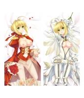 Fate/Grand Order ネロ・クラウディウス 1/2サイズ 二次創作 同人 18禁 抱き枕カバー FGO Fatego フェイト/グランドオーダー 萌工房 smz09938-2