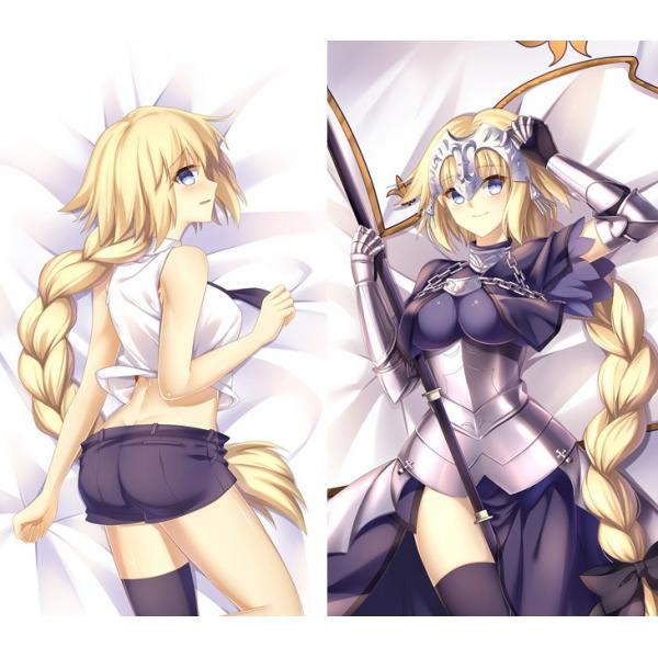 Fate/Grand Order ジャンヌ・ダルク 1/2サイズ 二次創作 同人 抱き枕カバー FGO Fatego フェイト/グランドオーダー 邪ンヌ 萌工房 smz09942-1