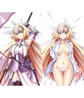 Fate/Grand Order ジャンヌ・ダルク 1/2サイズ 二次創作 同人 抱き枕カバー FGO Fatego フェイト/グランドオーダー 萌工房 smz09953-1