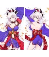 Fate/Grand Order 宮本武蔵 1/2サイズ 二次創作 同人 抱き枕カバー FGO Fatego フェイト/グランドオーダー 萌工房 smz09998-1