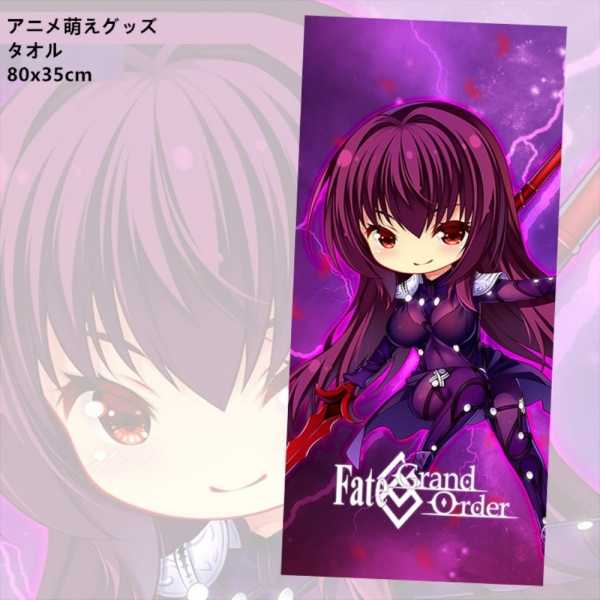Fate/Grand Order スカサハ 二次創作 同人 フェースタオル FGO Fatego フェイト/グランドオーダー 尚萌 tcz00153